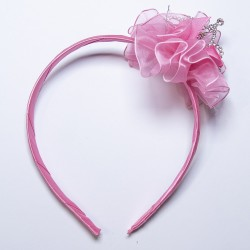 Pink Crown Hairband